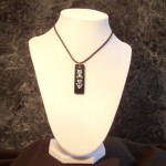 Kanji Black Belt Necklace