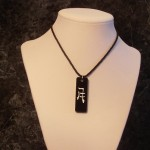 Kanji Moon Symbol Necklace
