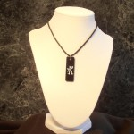 Kanji Water Necklace