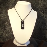 Kanji Wind Pendant Necklace